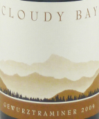 云雾之湾琼瑶浆干白葡萄酒(Cloudy Bay Gewurztraminer, Marlborough, New Zealand)