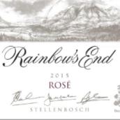 虹端酒庄混酿桃红葡萄酒(Rainbow's End Rose,Stellenbosch,South Africa)