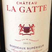 盖特酒庄干红葡萄酒(Chateau La Gatte,Bordeaux Superieur,France)