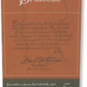 布鲁托卡酒庄门多西诺合奏系列红葡萄酒(Brutocao Cellars Coro Mendocino,California,USA)