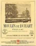 杜哈磨坊干红葡萄酒(Moulin De Duhart,Pauillac,France)