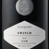 豪富开关歌海娜西拉慕合怀特干红葡萄酒(Haselgrove Switch GSM,McLaren Vale,Australia)