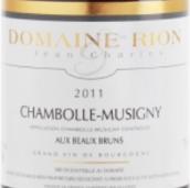 让-查尔斯·瑞阳酒庄博布朗(香波-慕西尼村)红葡萄酒(Domaine Jean-Charles Rion Aux Beaux Bruns,Chambolle-Musigny,...)