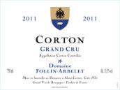 弗林·艾贝勒科尔登干红葡萄酒(Domaine Follin-Arbelet Corton Grand Cru,Cote de Beaune,...)