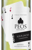皮尔斯杰克霞多丽白葡萄酒(Peos Estate Wines Four Jacks Chardonnay, Manjimup, Australia)