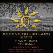 上升酒庄魅黑西拉干红葡萄酒(Ascension Cellars Mayhem Syrah, Paso Robles. USA)