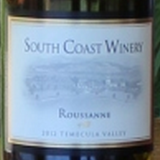 南部海岸瑚珊红葡萄酒(South Coast Roussanne,California,USA)