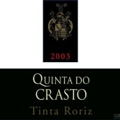 克拉斯托酒庄罗丽红干红葡萄酒(Quinta do Crasto Tinta Roriz, Douro, Portugal)