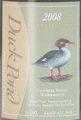 鸭塘酒庄琼瑶浆红葡萄酒(Duck Pond Gewurztraminer,Columbia Valley,USA)