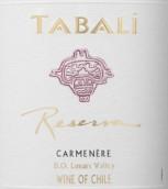 达百利珍藏佳美娜干红葡萄酒(Tabali Reserva Carmenere, Limari Valley, Chile)