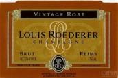 路易王妃年份干型桃红香槟(Champagne Louis Roederer Vintage Brut Rose, Champagne, France)