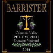 律师狄俄尼索斯园味而多干红葡萄酒(Barrister Winery Dionysus Vineyard Petit Verdot, Columbia Valley, USA)