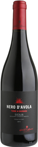 卡鲁索-米尼尼吉玛拉黑珍珠红葡萄酒(Caruso&Minini Terre di Guimara Nero d'Avola,Sicilia,Italy)