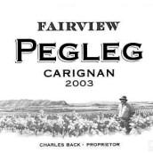 锦绣派格勒格佳丽酿干红葡萄酒(Fairview Pegleg Carignan,Swartland,South Africa)