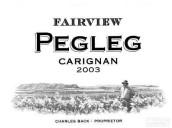 锦绣派格勒格佳丽酿干红葡萄酒(Fairview Pegleg Carignan,Swartland,South Africa)