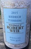 罗伯特威尔酒庄塔山园雷司令白葡萄酒(Weingut Robert Weil Turmberg Riesling Trocken, Rheingau, Germany)
