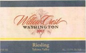 Willow Crest Riesling,Yakima Valley,USA