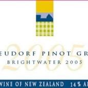 鲁道夫酒庄明水灰皮诺白葡萄酒(Neudorf Brightwater Pinot Gris,Nelson,New Zealand)