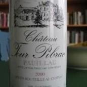 佩兰副牌(Chateau La Tour Pibran,Pauillac,France)