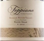 福乐禄酒庄小西拉干红葡萄酒(Foppiano Vineyards Estate Petite Sirah, Russian River Valley, USA)