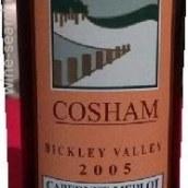 柯舍姆酒庄比克利山谷赤霞珠梅洛干红葡萄酒(Cosham Bickley Valley Cabernet Merlot,Perth Hills,Australia)