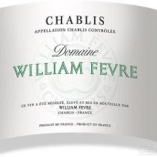 威廉·费尔酒庄干白葡萄酒(Domaine William Fevre, Chablis, France)
