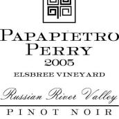 佩里艾斯布里园黑皮诺干红葡萄酒(Papapietro Perry Elsbree Vineyard Pinot Noir,Russian River ...)