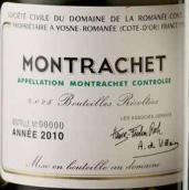 罗曼尼·康帝(蒙哈榭特级园)干白葡萄酒(Domaine de La Romanee-Conti Montrachet Grand Cru, Cote de Beaune, France)