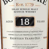 波摩18年苏格兰单一麦芽威士忌(Bowmore Aged 18 Years Single Malt Scotch Whisky,Islay,UK)