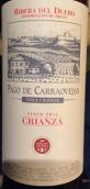 卡拉维哈斯酒庄陈酿葡萄酒(Pago de Carraovejas Crianza, Ribera del Duero, Spain)