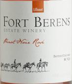霍特-贝伦斯酒庄半干桃红葡萄酒(Fort Berens Rose,Fraser Valley,Canada)