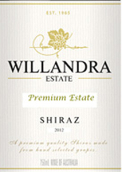 威兰德拉庄园西拉干红葡萄酒(Willandra Estate Shiraz,Riverina,Australia)