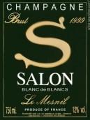沙龙特酿S梅尼尔白中白香槟(Salon Cuvee S Le Mesnil Blanc de Blancs,Champagne,France)