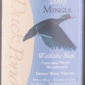 鸭塘酒庄融合混酿红葡萄酒(Duck Pond Mingle,Wahluke Slope,USA)