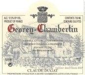 杜卡酒庄(热夫雷-香贝丹村)干红葡萄酒(Claude Dugat,Gevrey-Chambertin,France)