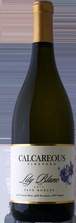 卡凯瑞厄斯白百合瑚珊-白歌海娜混酿干白葡萄酒(Calcareous Vineyard Lily Blanc Roussanne-Grenache Blanc,Paso...)