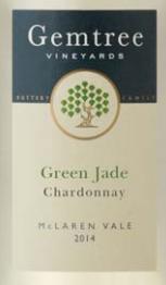 宝石树翡翠霞多丽干白葡萄酒(Gemtree Vineyards Green Jade Chardonnay,McLaren Vale,...)