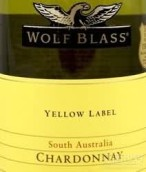 禾富黄牌霞多丽干白葡萄酒(Wolf Blass Yellow Label Chardonnay,South Australia,Australia)
