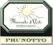 普鲁诺托莫斯卡托阿斯蒂起泡酒(Prunotto Moscato d'Asti DOCG, Piedmont, Italy)