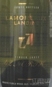 拉莫罗·兰丁北42区干白葡萄酒(Lamoreaux Landing 42 North White,Finger Lakes,USA)