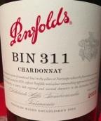 奔富Bin 311霞多丽干白葡萄酒(Penfolds Bin 311 Chardonnay, Henty, Australia)