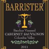 律师巴克斯园赤霞珠干红葡萄酒(Barrister Winery Bacchus Vineyards Cabernet Sauvignon, Columbia Valley, USA)
