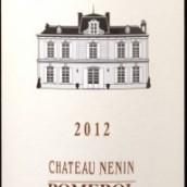 列兰酒庄红葡萄酒(Chateau Nenin,Pomerol,France)