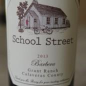 哈彻酒庄学院街系列巴贝拉干红葡萄酒(Hatcher Winery School Street Barbera,California,USA)