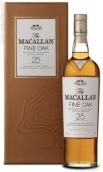 麦卡伦上等橡木25年苏格兰单一麦芽威士忌(The Macallan Fine Oak 25 Year Old Single Malt Scotch Whisky, Speyside, Scotland)