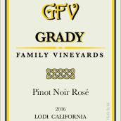 格雷迪家族黑皮诺桃红葡萄酒(Grady Family Pinot Noir Rose, Lodi, USA)