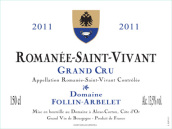 弗林·艾贝勒罗曼尼圣薇薇安干红葡萄酒(Domaine Follin-Arbelet Romanee-Saint-Vivant Grand Cru,Cote ...)