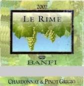 班菲酒庄霜露霞多丽-灰皮诺白葡萄酒(Banfi Le Rime Chardonnay-Pinot Grigio, Tuscany, Italy)