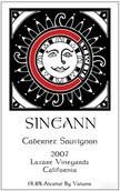 西尼恩拉扎尔园赤霞珠干红葡萄酒(Sineann Lazare Vineyards Cabernet Sauvignon, Willamette Valley, USA)