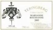 雅伦堡玛珊-瑚珊干白葡萄酒(Yeringberg Marsanne Roussanne,Yarra Valley,Australia)